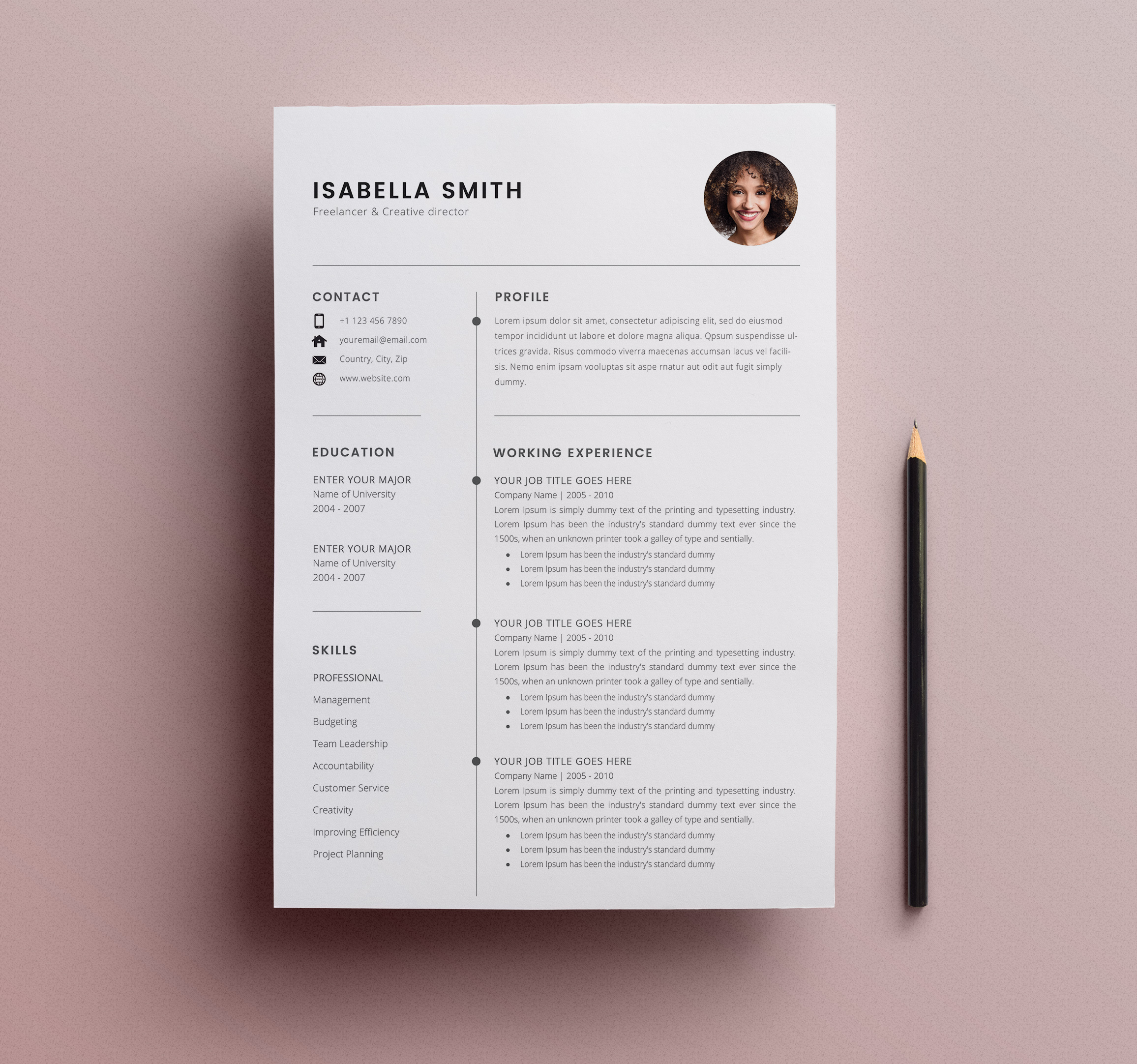 free resume template cv freebies graphic design junction templates view1 best Resume Free Resume Templates 2020 Download