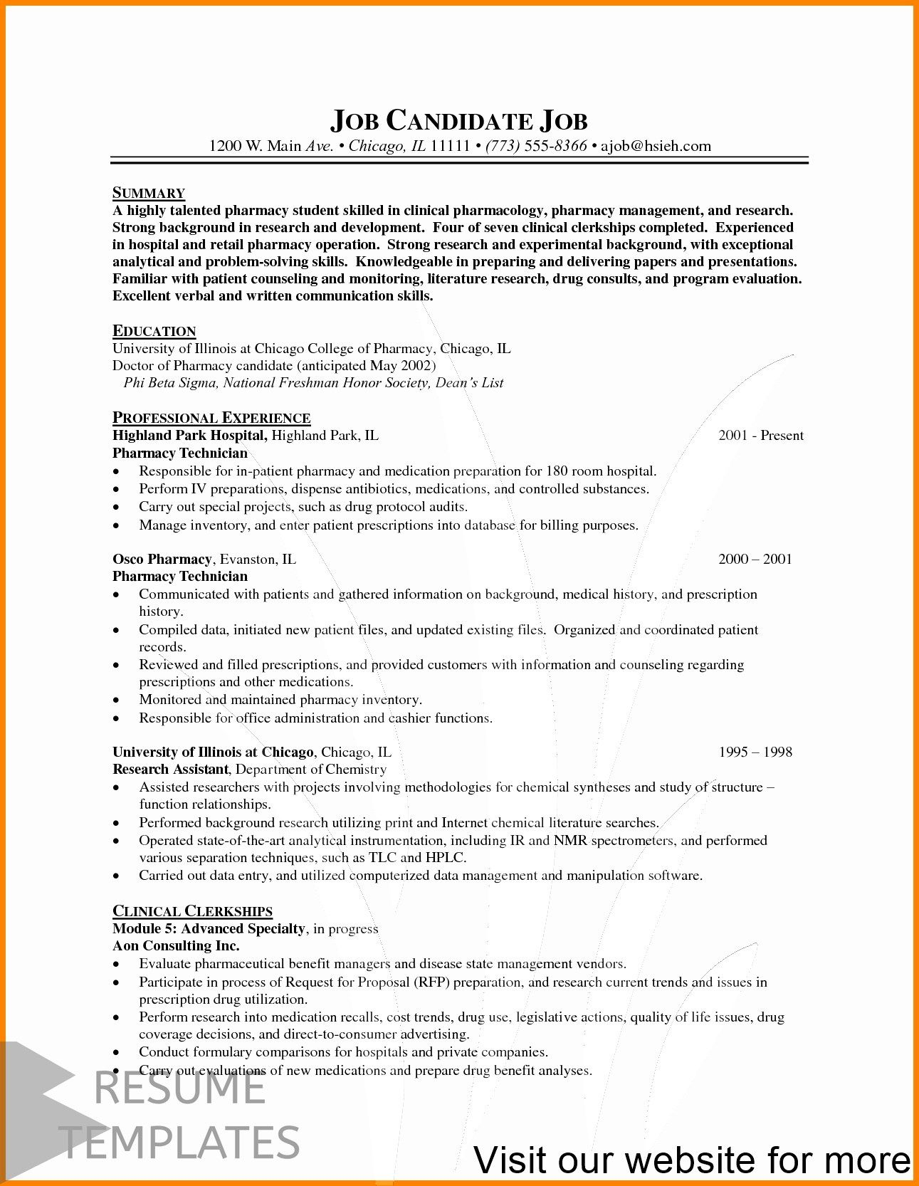 free resume template word modern downloadable builder from existing professional new grad Resume Free Resume Builder From Existing Resume