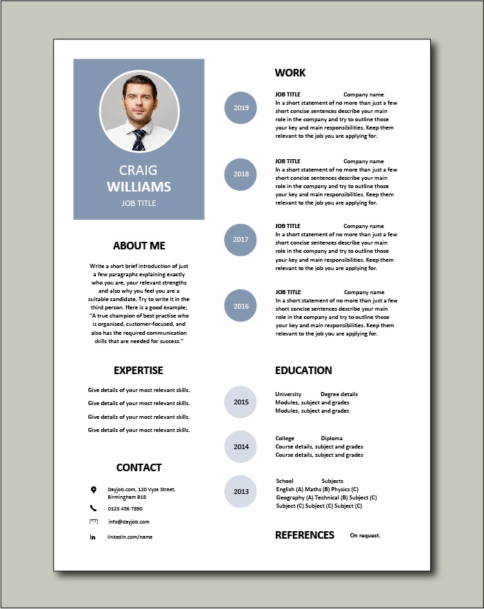 free resume templates examples samples cv format builder job application skills with Resume Free Resume Templates With Bullet Points