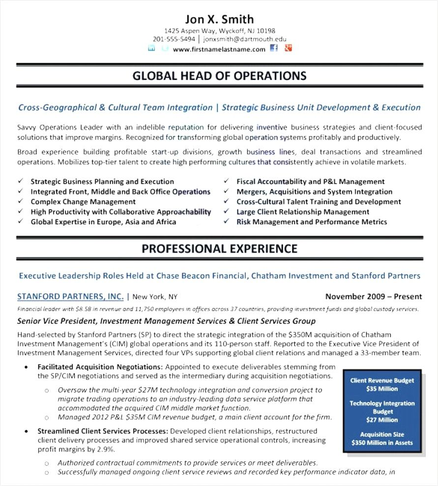 free resume templates executive examples template management simple builder bullet point Resume Management Resume Templates Free