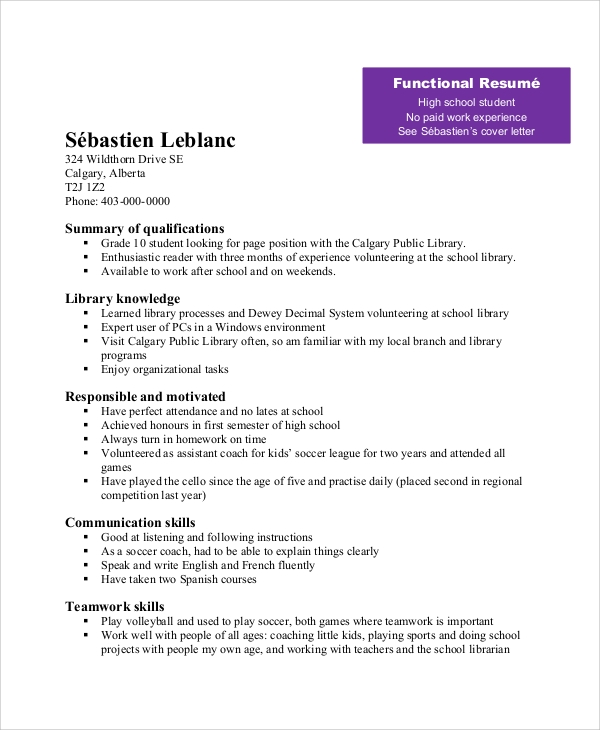 free sample teenage resume templates in ms word pdf for teenager with little work Resume Resume For Teenager With Little Work Experience