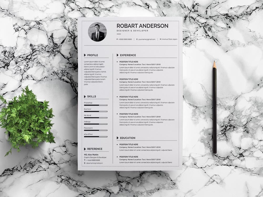 free simple google docs resume template for job seeker with photo redhat logo scan ats Resume Google Docs Resume Template With Photo