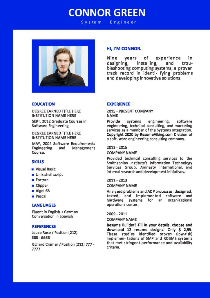free word resume templates in ms template edit pdf 724x1024 examples with linkedin url Resume Word Resume Template 2020