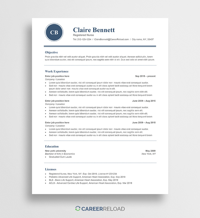 free word resume templates microsoft cv ats friendly template claire analysis skills Resume Free Resume Templates Ats Friendly