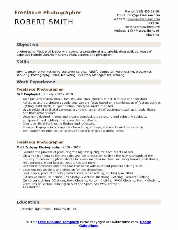 freelance photographer resume samples qwikresume photography objective pdf fax your entry Resume Photography Resume Objective