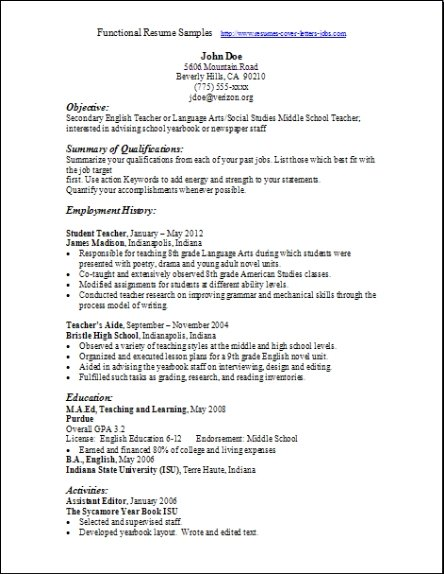functional resume samples examples free edit with word best esthetician spa cnc machine Resume Best Functional Resume Samples