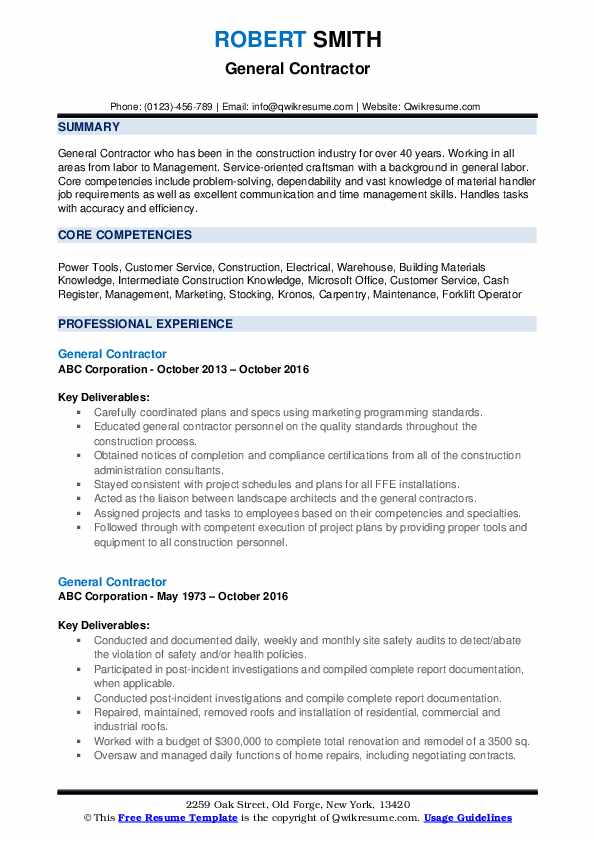 general contractor resume samples qwikresume subcontractor job description pdf red bull Resume Subcontractor Job Description Resume