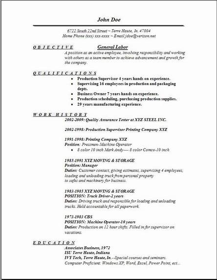 general labor resume examples samples free edit with word starting business nightclub Resume General Labor Resume Examples