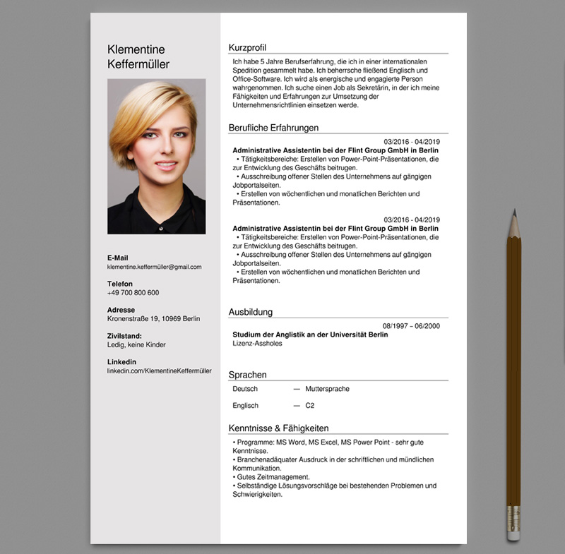 german cv and cover letter creator pdf prepare resume free lebenslauf vorlagen customer Resume Prepare Resume Online Free