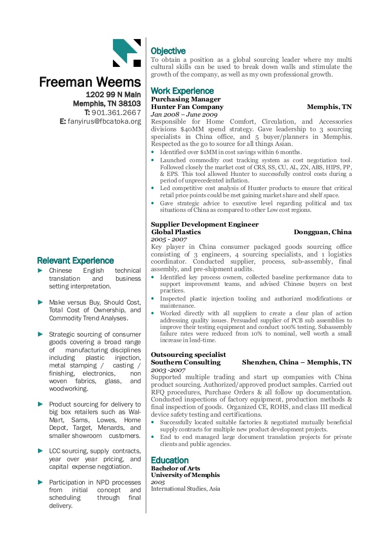 global sourcing resume examples logome phpapp02 thumbnail school letter simple college Resume Sourcing Resume Examples