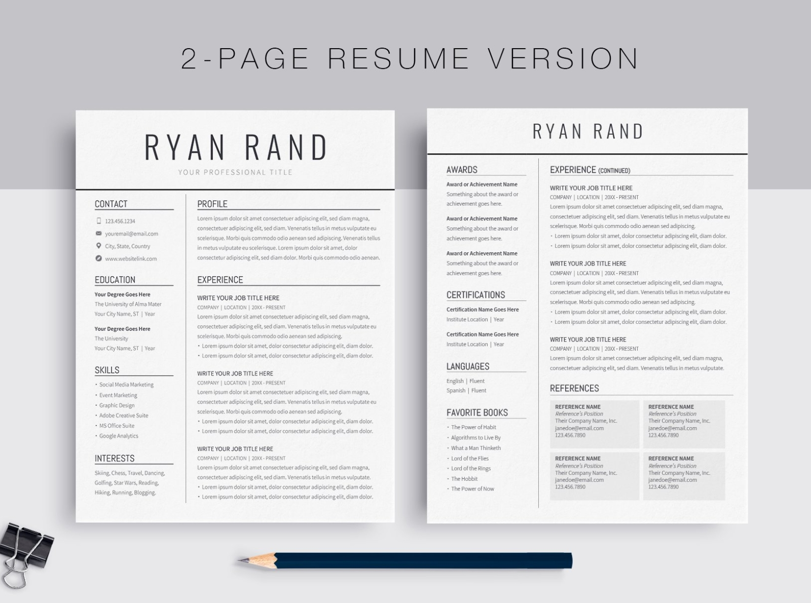 google docs resume template by templates on dribbble format skills that are good for Resume Resume Format Google Docs