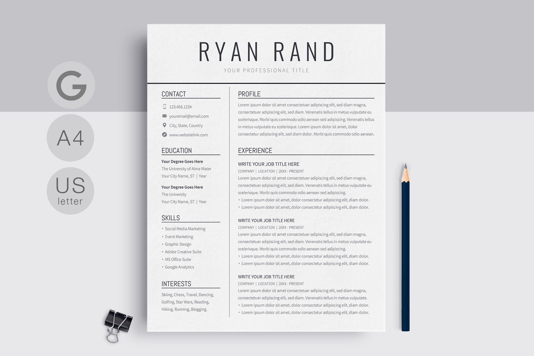 google docs resume template by templates on dribbble ryan rand black cm should you follow Resume Template Resume Google Docs