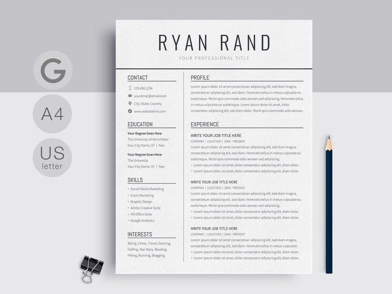 google docs resume template templates on dribbble downloadable free for tips college Resume Resume Templates For Google Docs Free