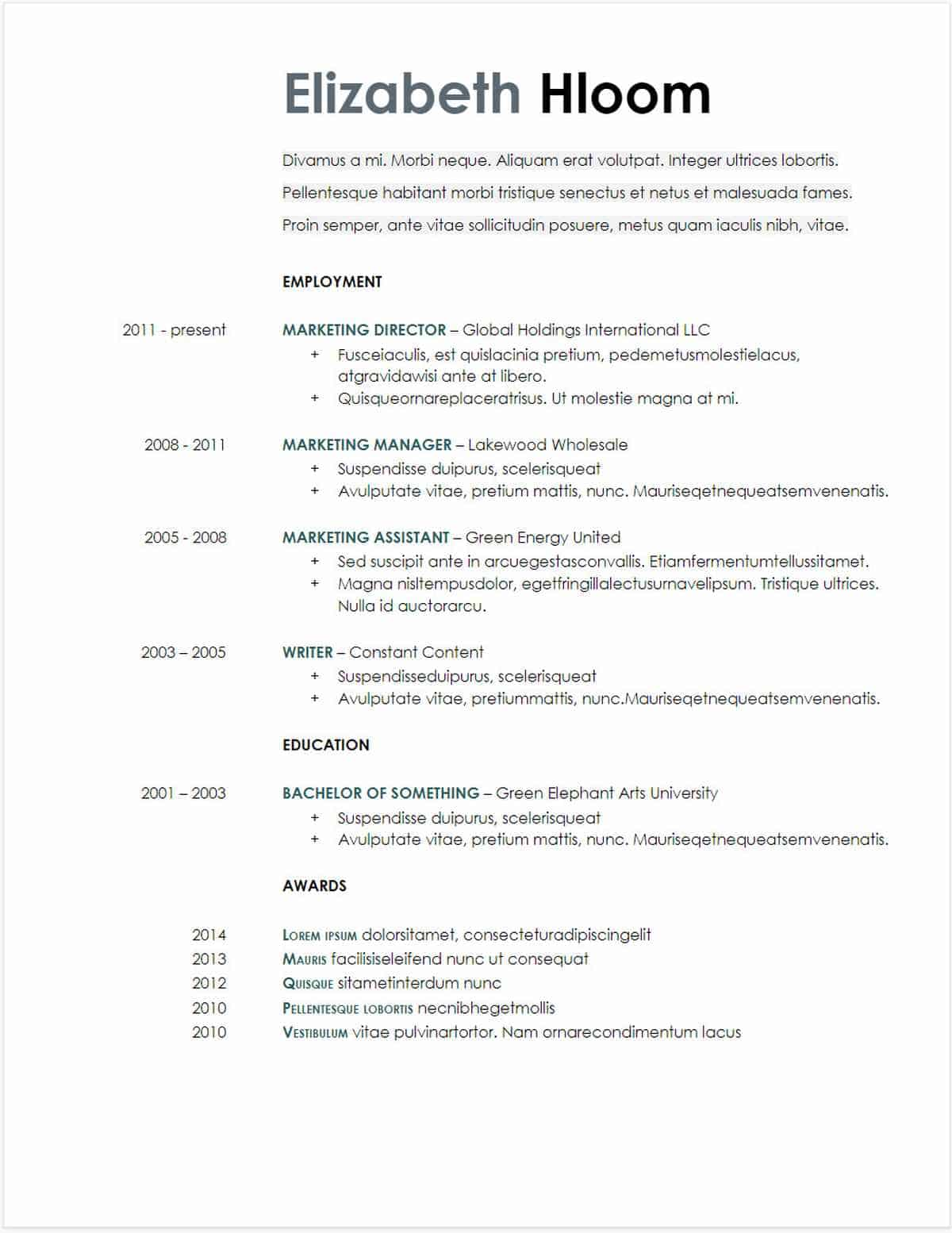 google docs resume templates downloadable pdfs swiss template blue side gdoc free jade Resume Swiss Resume Template Google Docs