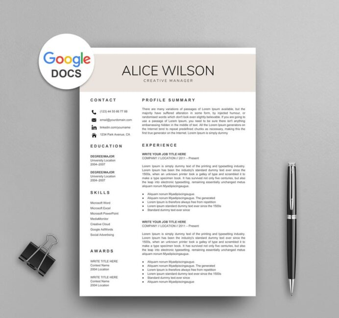 google docs resume templates now template with photo creative redhat logo for mysql Resume Google Docs Resume Template With Photo