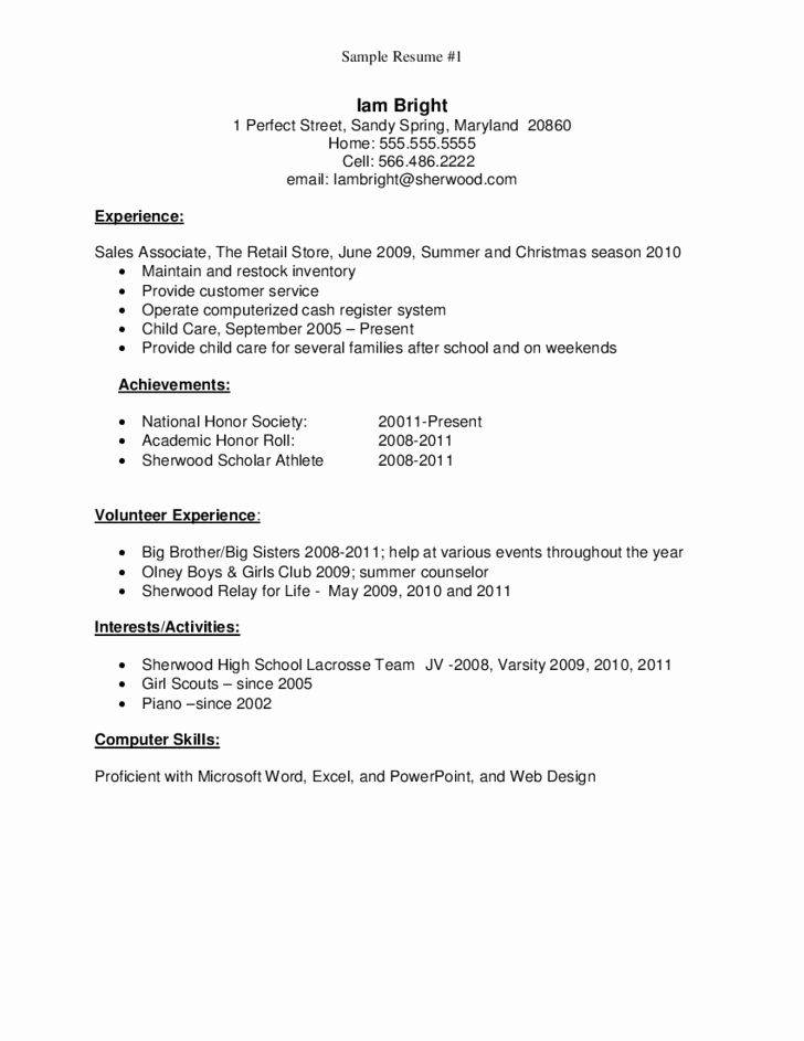 graduate school resume examples fresh sample for high free first job med surg example Resume Sample Resume For High School Graduate