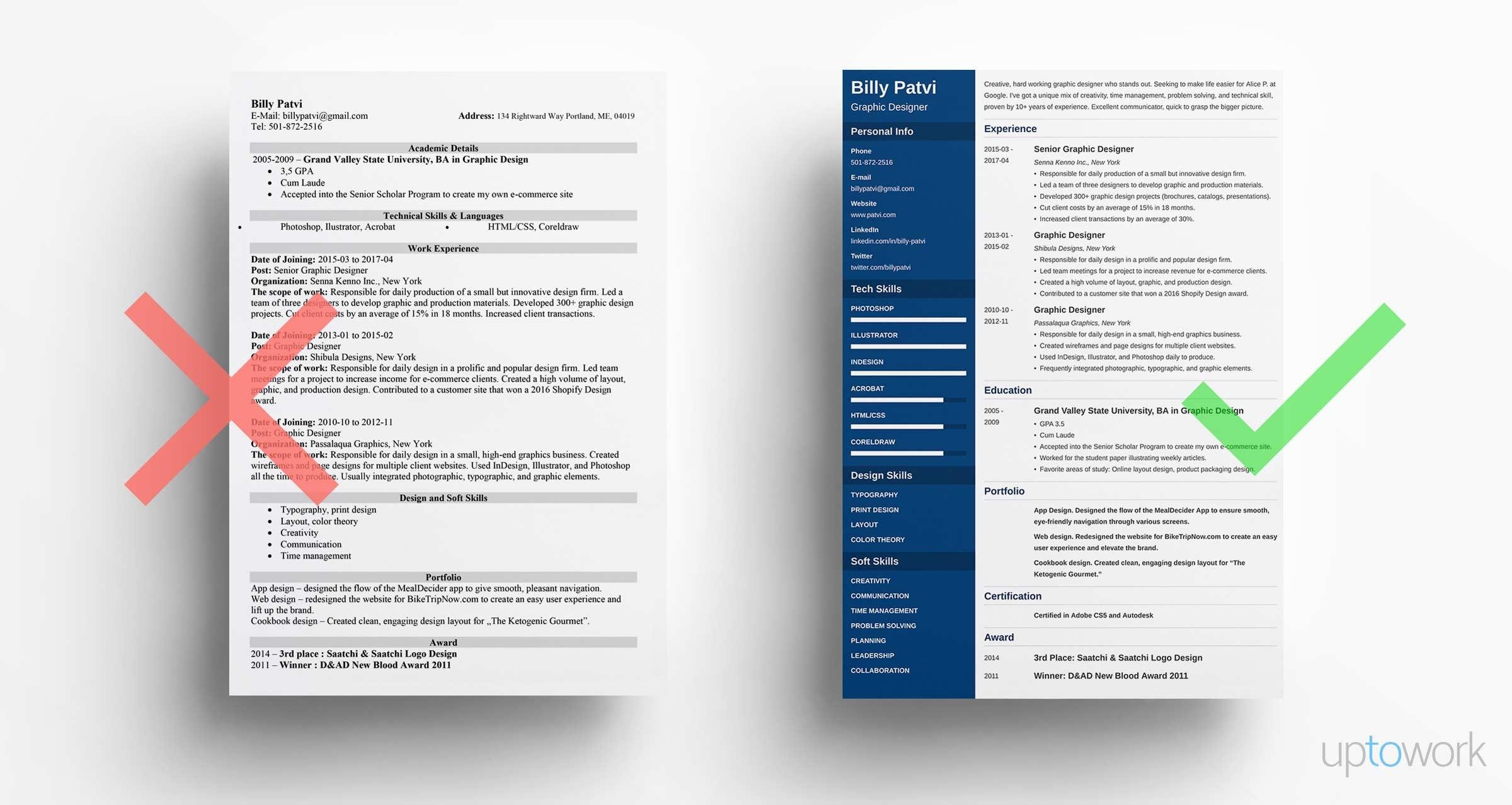 graphic designer resume examples and design tips for creative samples free military Resume Creative Resume Design For Graphic Designer