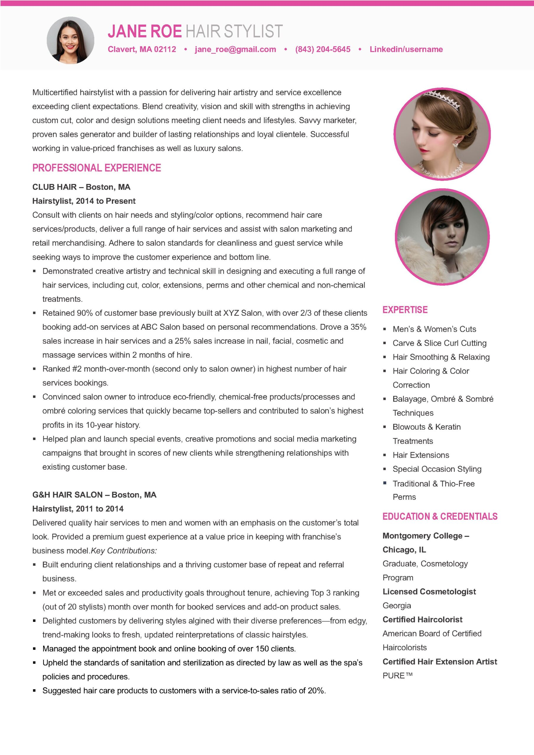 hair stylist resume template brand new free templates medical externship for older Resume Free Hair Stylist Resume Templates Download