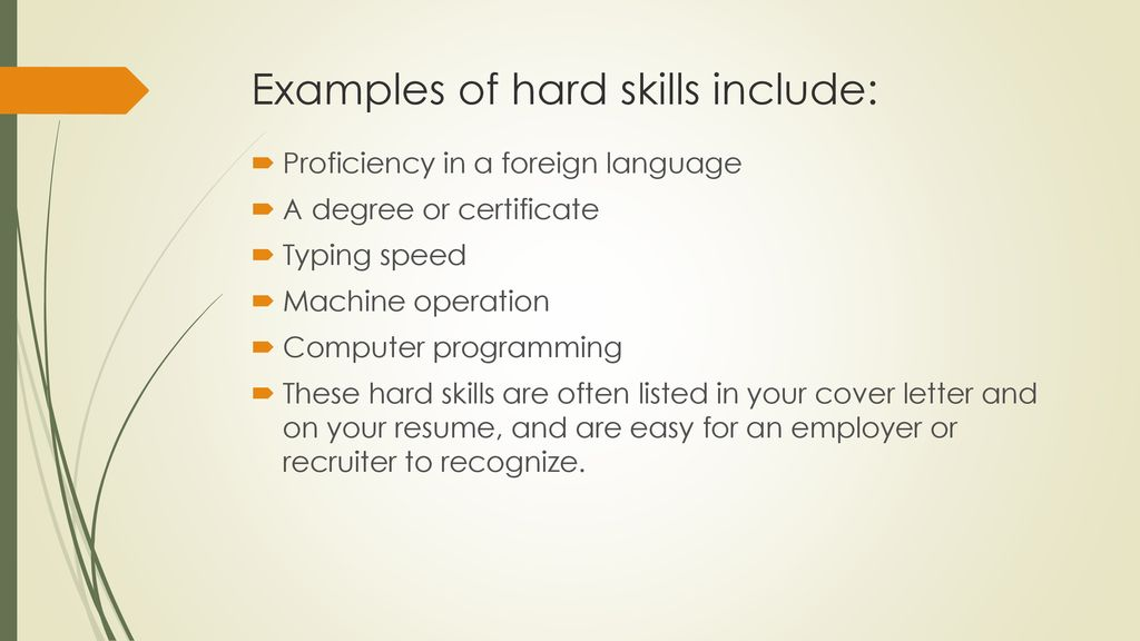 hard skills vs soft examples of for resume include personal objective crisis management Resume Examples Of Hard Skills For A Resume