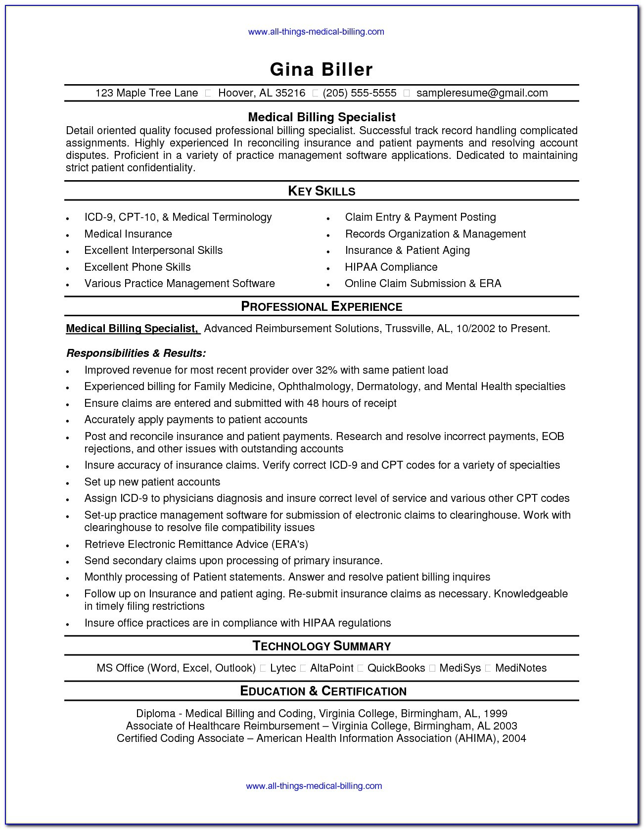 health insurance resume template vincegray2014 medical personal trainer sample for Resume Medical Insurance Resume