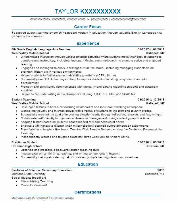 high school english teacher resume examples sample of for hotel management format Resume Sample Resume Of English Teacher For High School