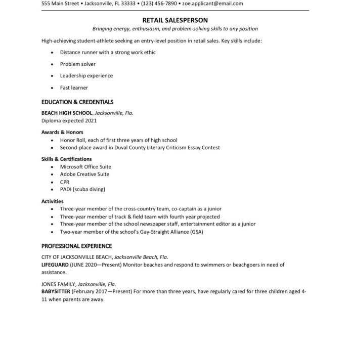 high school student resume template sample for college scholarship perfect medical format Resume College Scholarship Resume