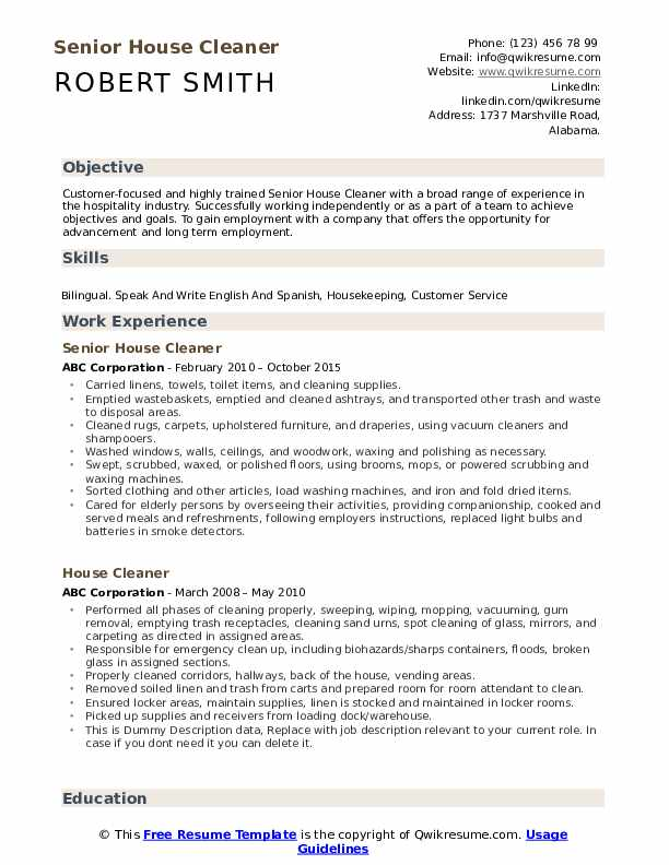house cleaner resume samples qwikresume self employed pdf basketball coach receiving Resume Self Employed House Cleaner Resume