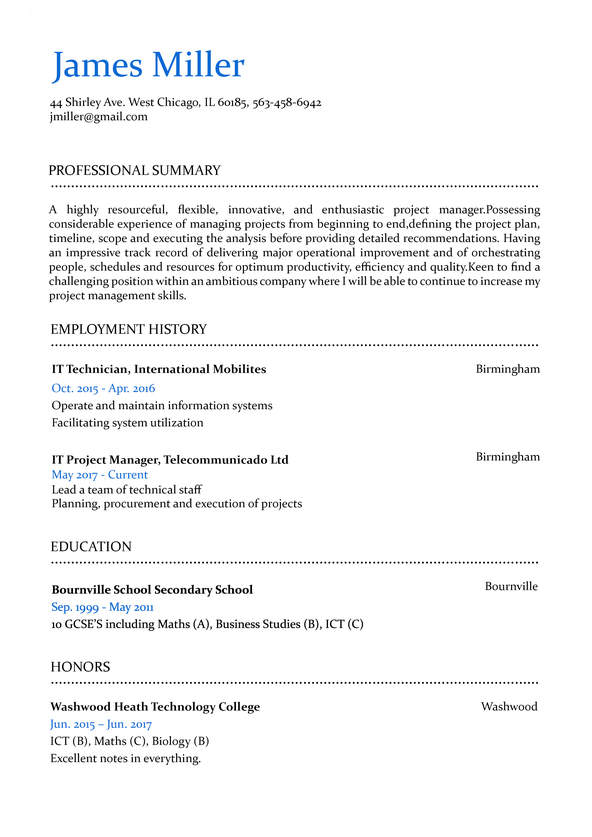 hr approved resume templates for any job builder professional carousel cv20 overview Resume Professional Resume Builder Online
