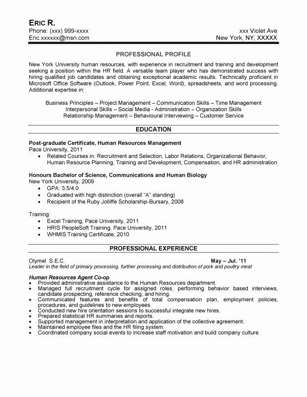 human resources coordinator resume unique samples new writing service hr examples high Resume Human Resources Coordinator Resume