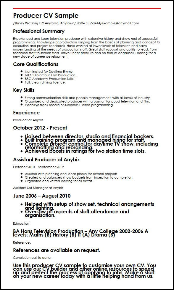 image of resume for job application film industry format summary selenium automation Resume Film Industry Resume Format