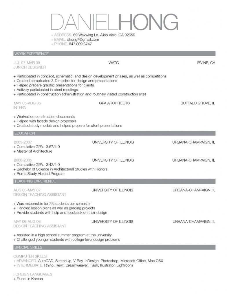 image result for best looking resumes professional resume samples template word good Resume Good Looking Resume Format