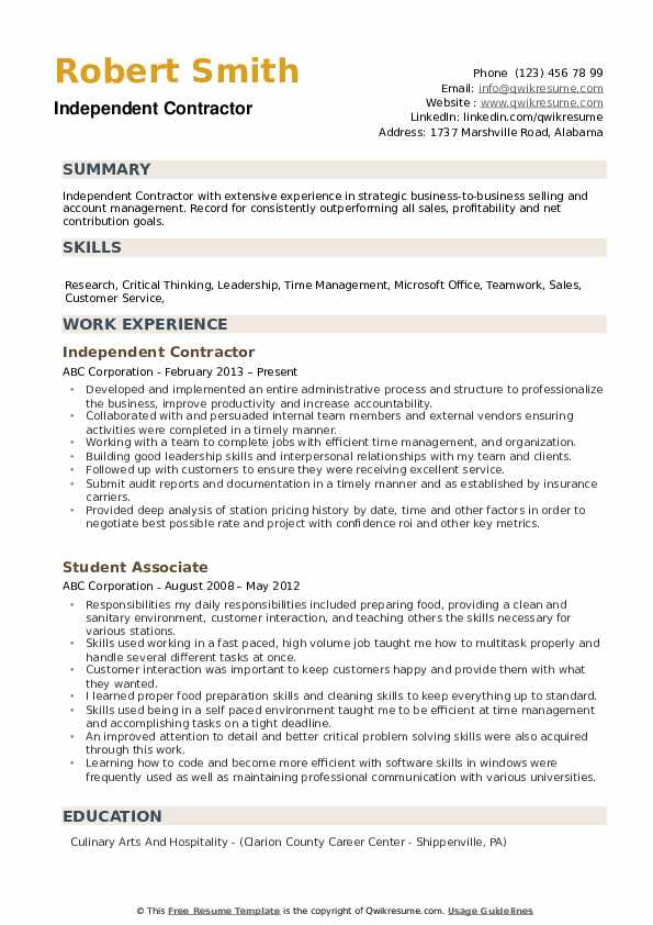 independent contractor resume samples qwikresume subcontractor job description pdf fire Resume Subcontractor Job Description Resume