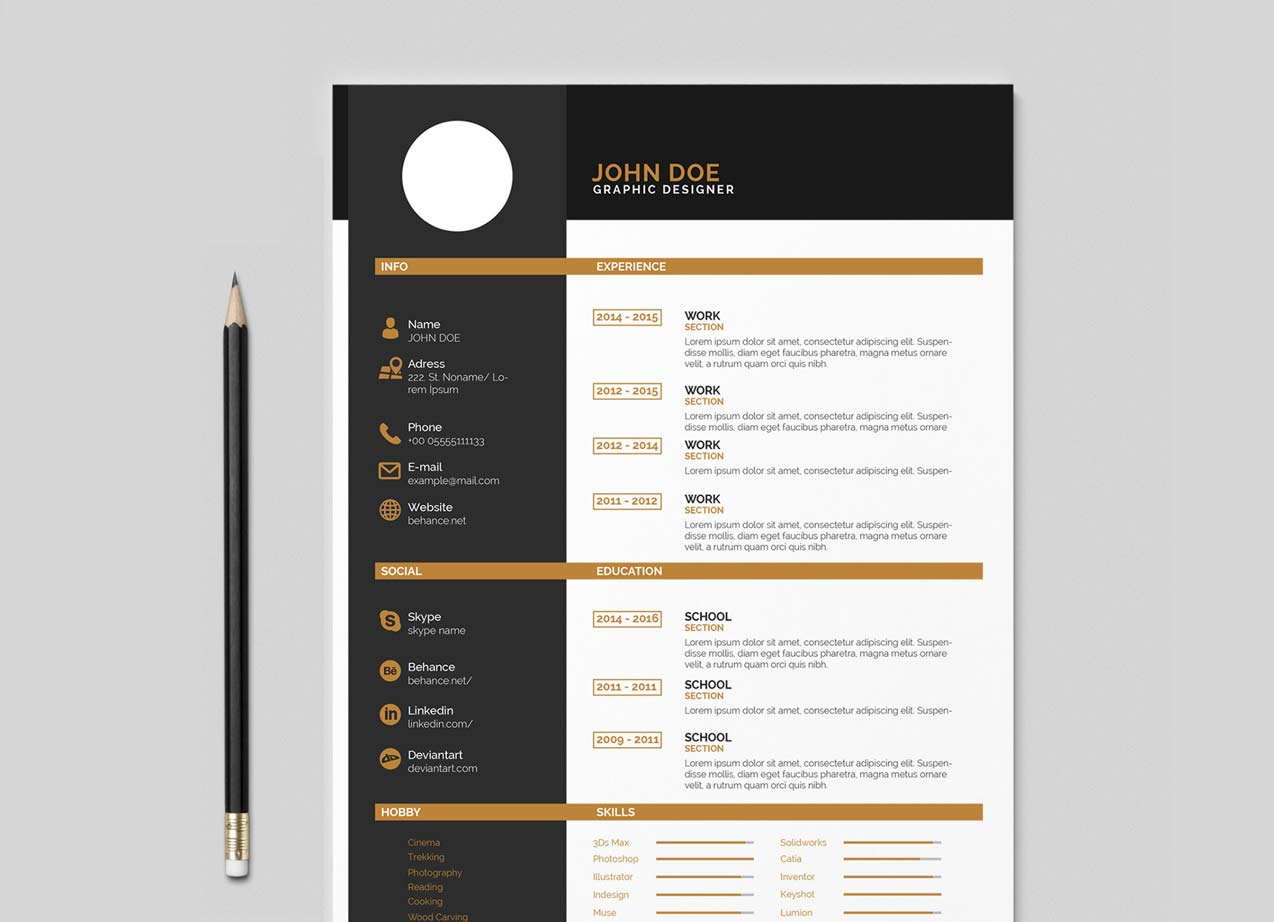 indesign resume template free resumekraft college student job police health and safety Resume Indesign Resume Template