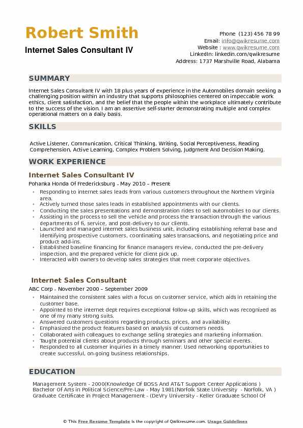 internet consultant resume samples qwikresume experience pdf templates microsoft word Resume Internet Experience Resume