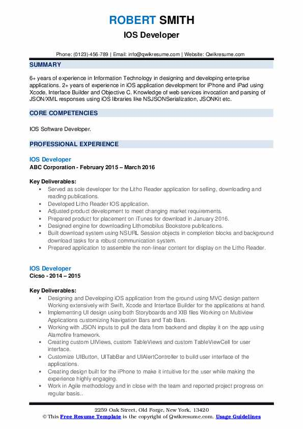 ios developer resume samples qwikresume year experience pdf out of work for years risk Resume Ios Developer 2 Year Experience Resume