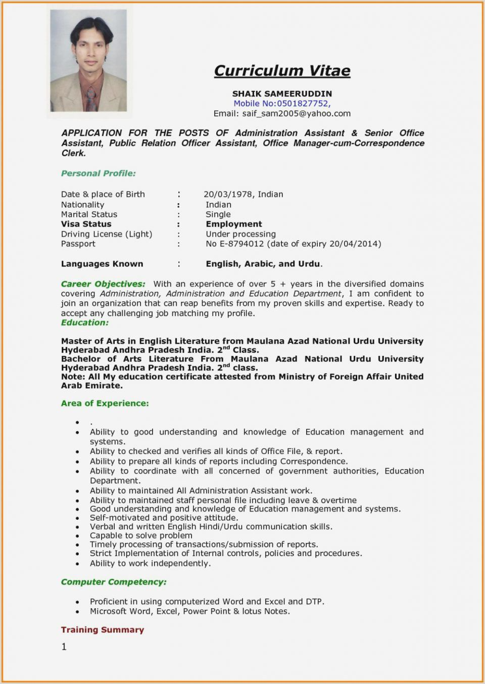 job interview format of resume for application big data administrator professional Resume Resume Format For Job Interview