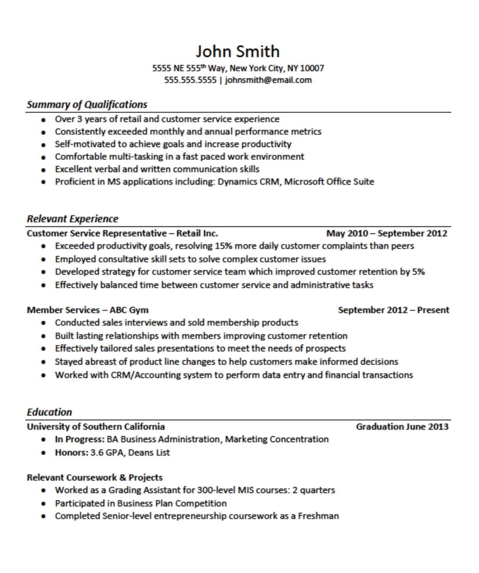 job resume examples no experience summary for with best practice templates hero login Resume Summary For Resume With No Experience