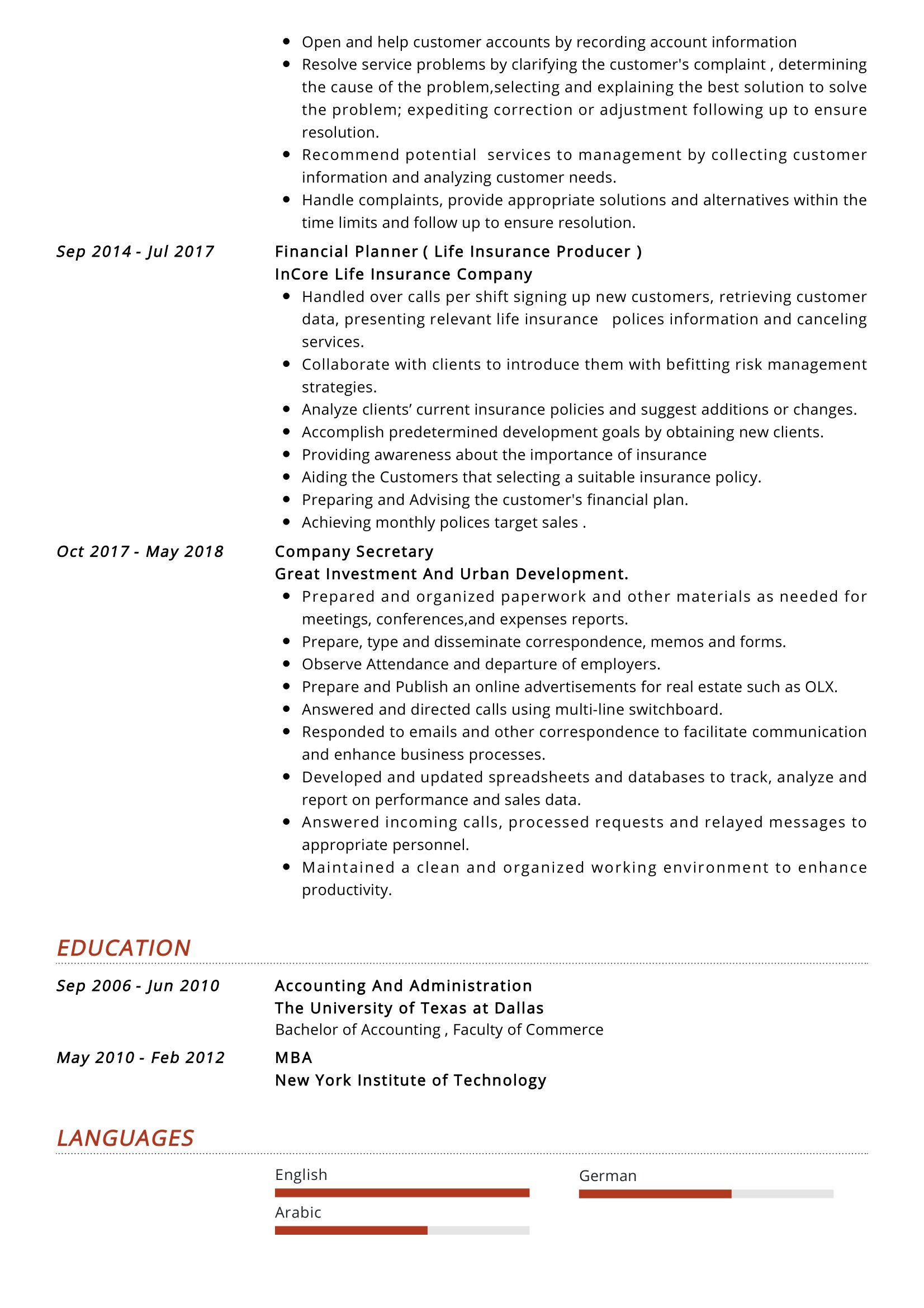 junior accountant resume sample resumekraft amazing objective for ballet oil and gas Resume Accountant Resume Sample