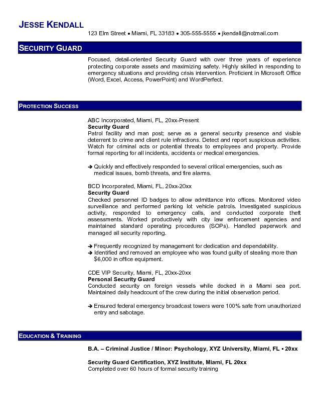 kimber pepperblaster ii red oc resume objective examples police officer free security Resume Free Security Resume Templates