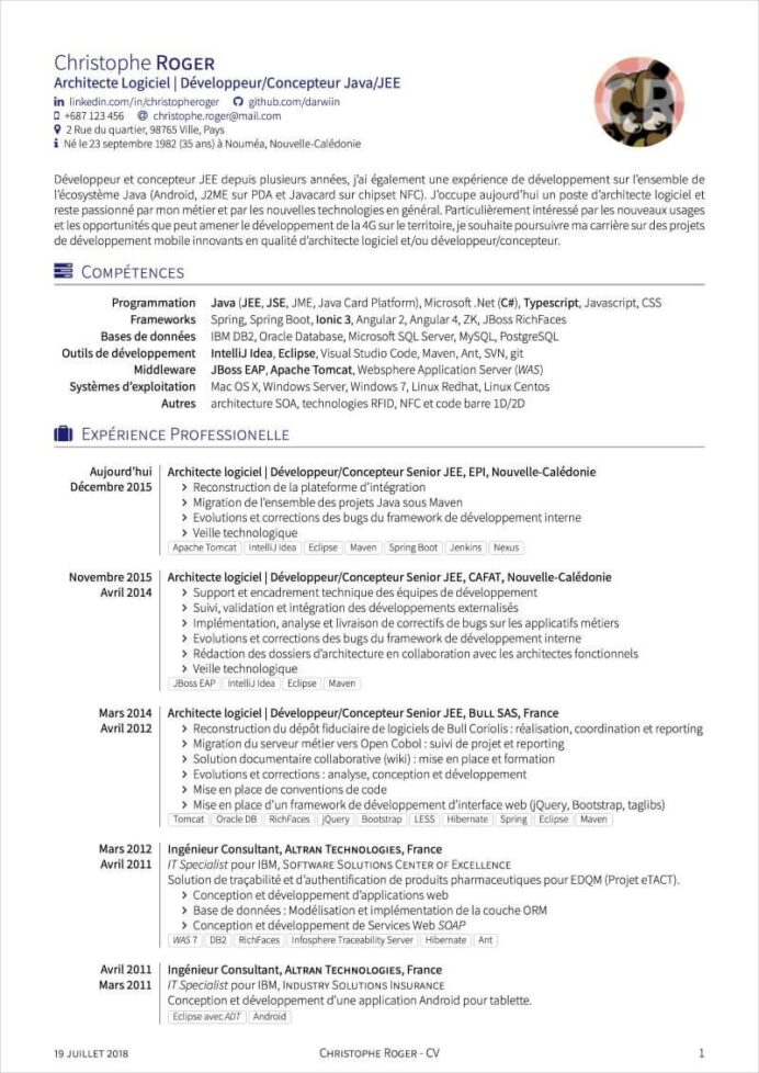 latex resume templates and cv for computer science template resumelab cesar marcel pagnol Resume Computer Science Latex Resume Template