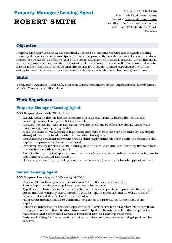 leasing agent resume samples qwikresume job description for pdf professional social work Resume Leasing Agent Job Description For Resume