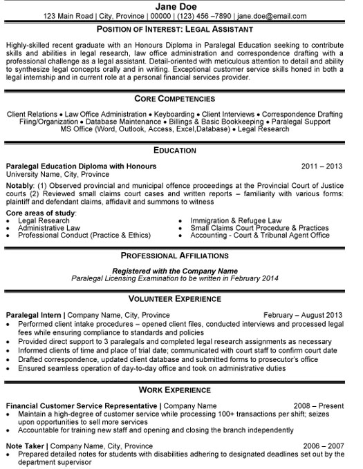 legal assistant resume sample template sstudent objective summary examples pronounce dos Resume Legal Assistant Resume Sample