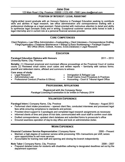 legal assistant resume template premium samples example sample objective summary examples Resume Legal Assistant Resume Sample