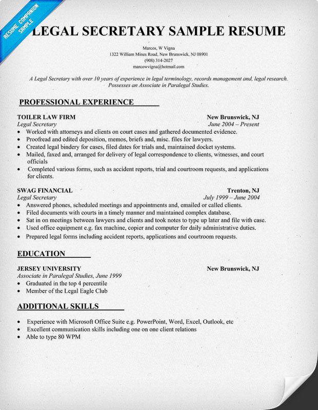 legal resume writing tips examples template assistant sample local builders office nurse Resume Legal Assistant Resume Sample