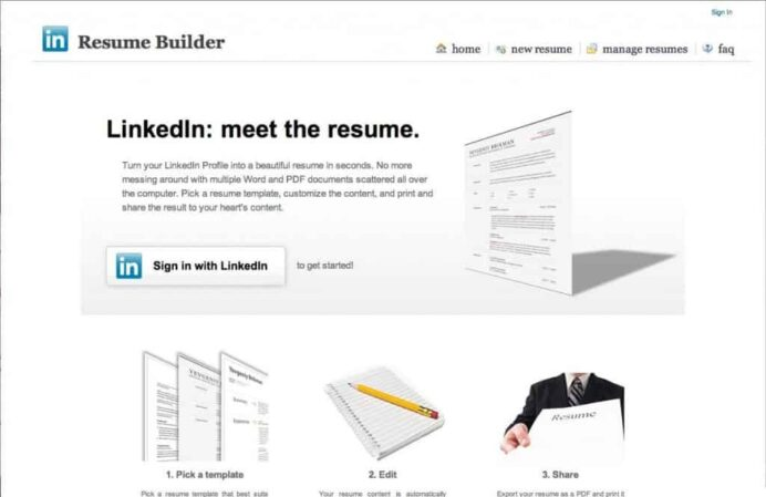 linkedin tips you may not have of resume builder tool 1024x664 excellent examples best Resume Linkedin Resume Builder Tool