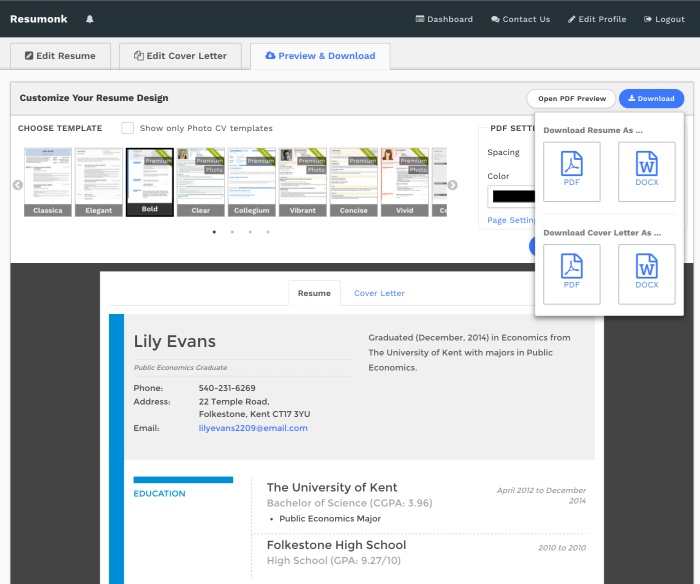 linkedin to resume converter create pdf quickly builder tool import preview multicultural Resume Linkedin Resume Builder Tool