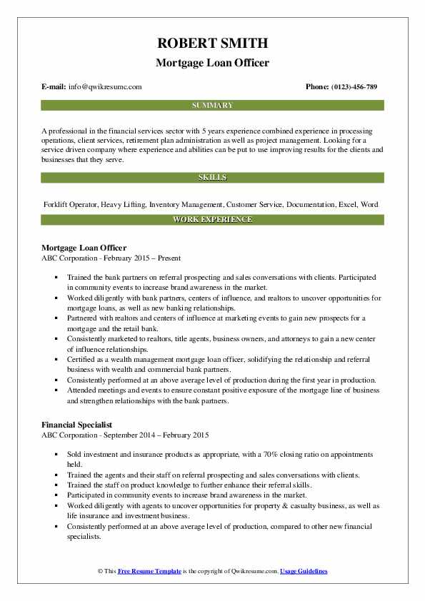 loan officer resume samples qwikresume mortgage pdf pre duct installer high school Resume Mortgage Loan Officer Resume