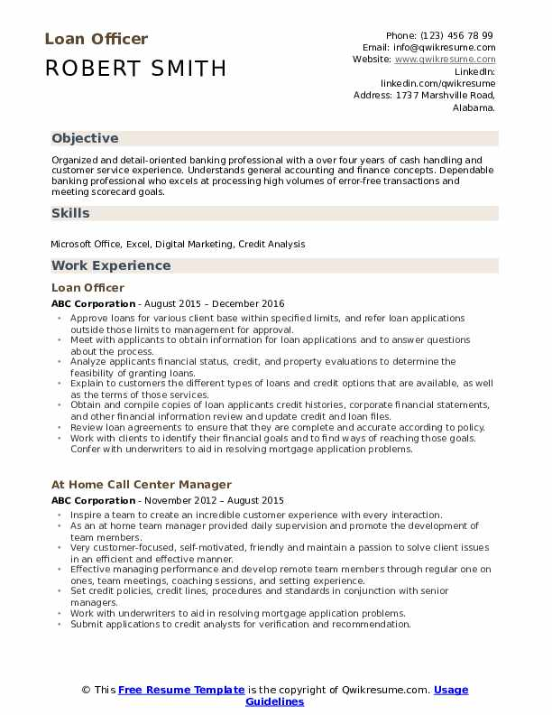 loan officer resume samples qwikresume sample for credit pdf teacher aide examples Resume Sample Resume For Credit Officer