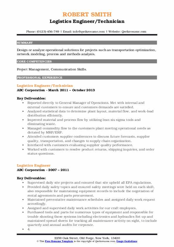 logistics engineer resume samples qwikresume pdf government format paper for and cover Resume Logistics Engineer Resume