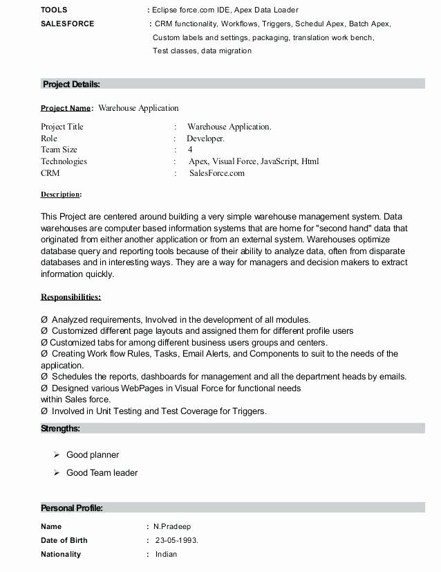 luxury salesforce developer resume geinofo project manager examples medical coder monster Resume Salesforce Project Manager Resume